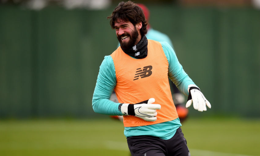Alisson Becker of Liverpool FC