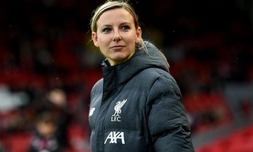 Vicky Jepson of Liverpool FC Women