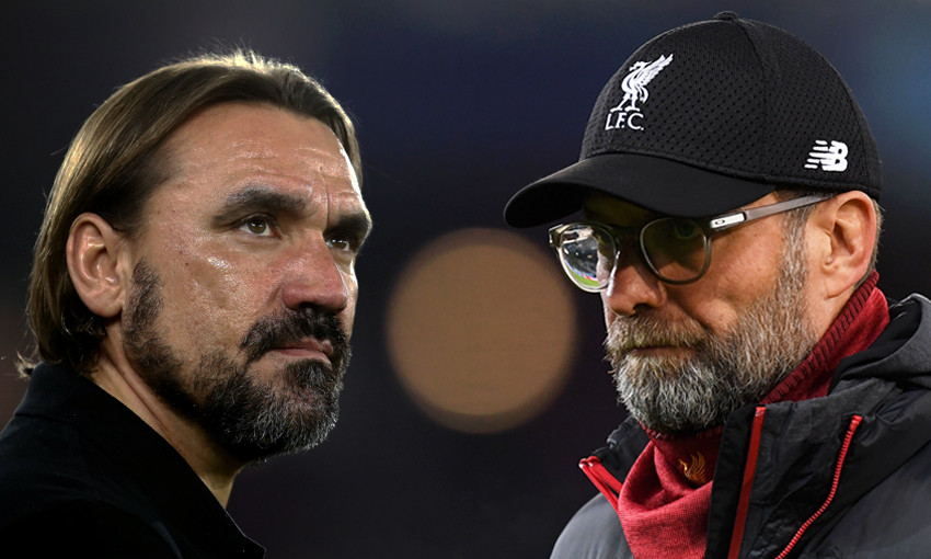 Daniel Farke and Jürgen Klopp