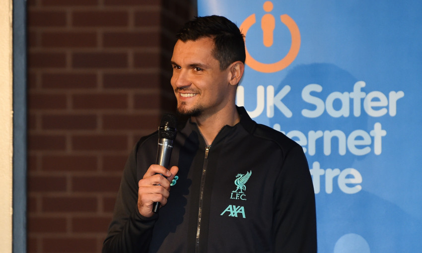 Safer Internet Day event at Anfield