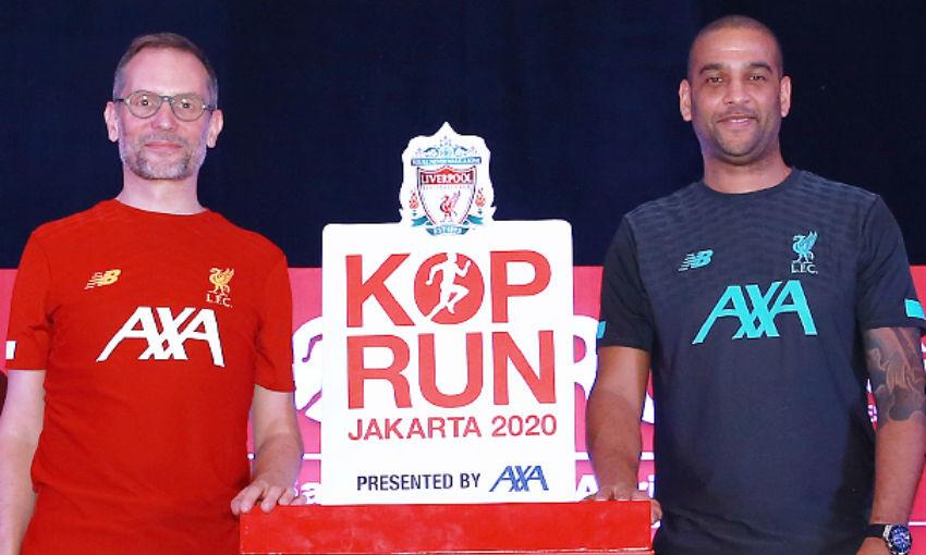Kop Run, Jakarta, launch event