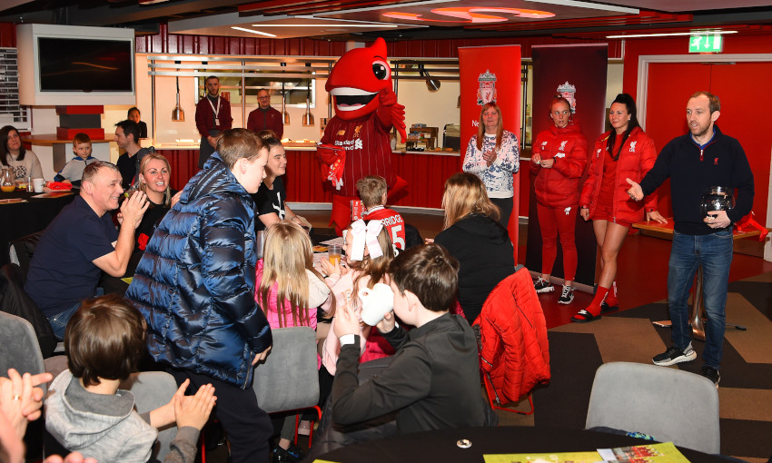 Half-term breakfast clubs at Anfield