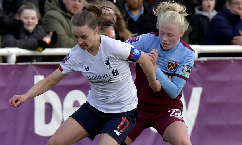 West Ham v Liverpool FC Women