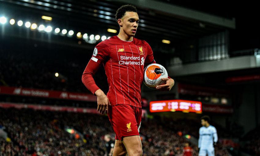 Trent Alexander-Arnold of Liverpool FC