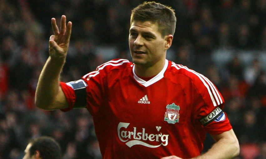 Steven Gerrard of Liverpool FC