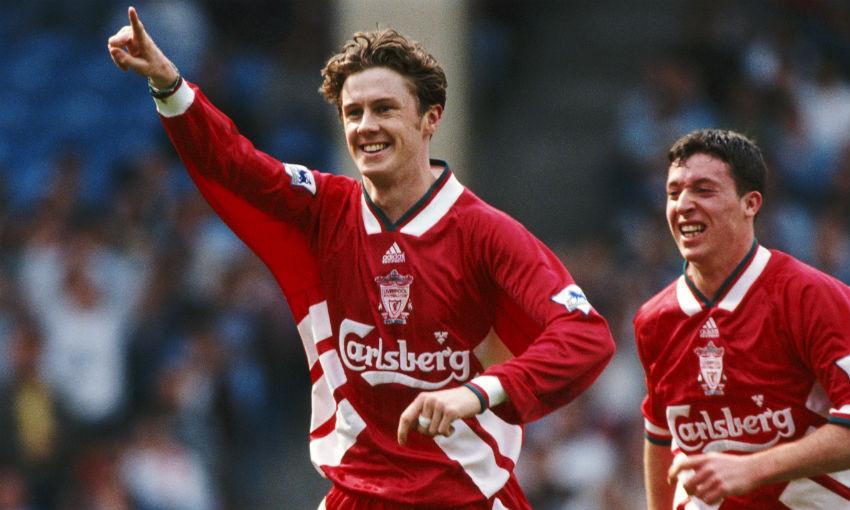 Steve McManaman of Liverpool FC