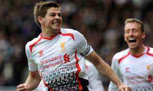 Steven Gerrard of Liverpool FC