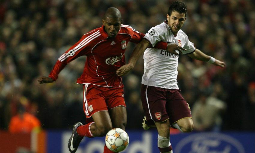 Ryan Babel of Liverpool FC