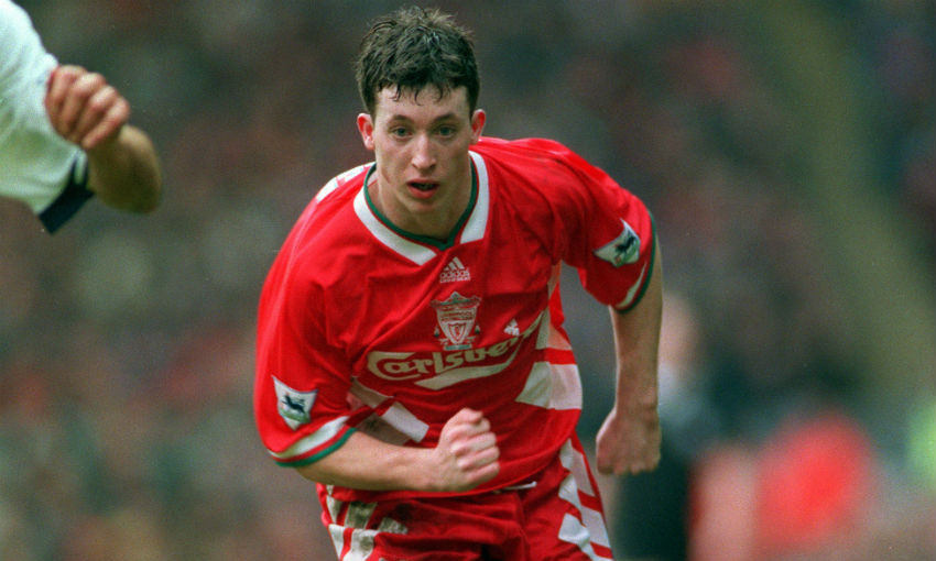 Robbie Fowler of Liverpool FC