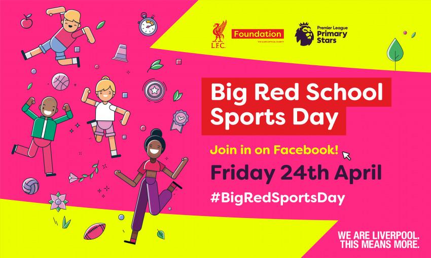 LFC Foundation launch virtual sports day - Liverpool FC Foundation