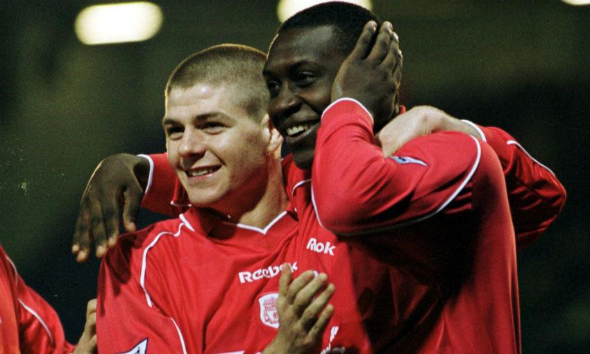 Emile Heskey of Liverpool FC