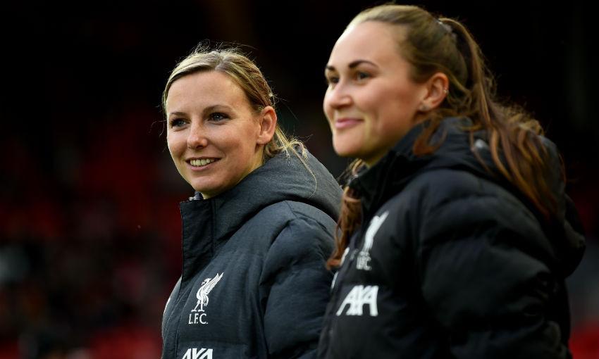 Vicky Jepson of Liverpool FC