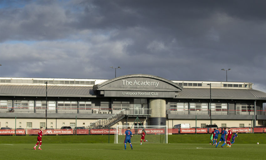 General view of Liverpool FC's Academy