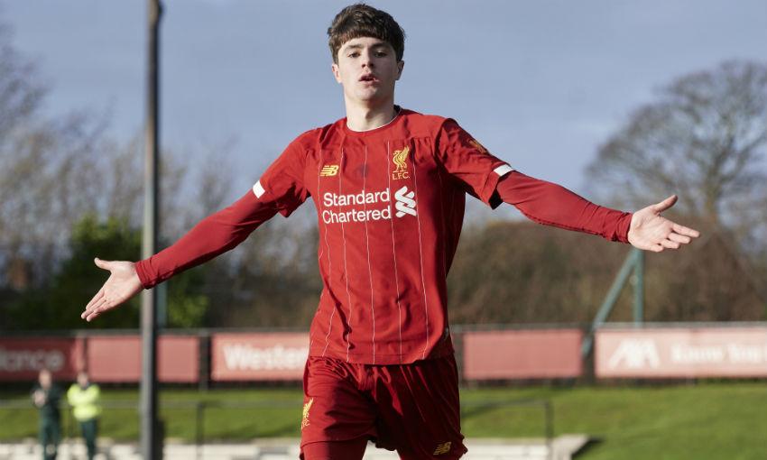 Layton Stewart of Liverpool FC