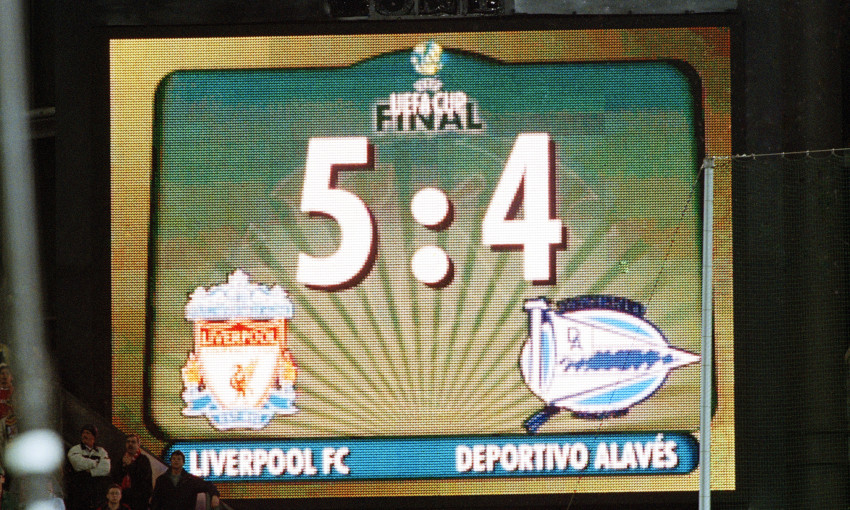Liverpool v Alaves, 2001