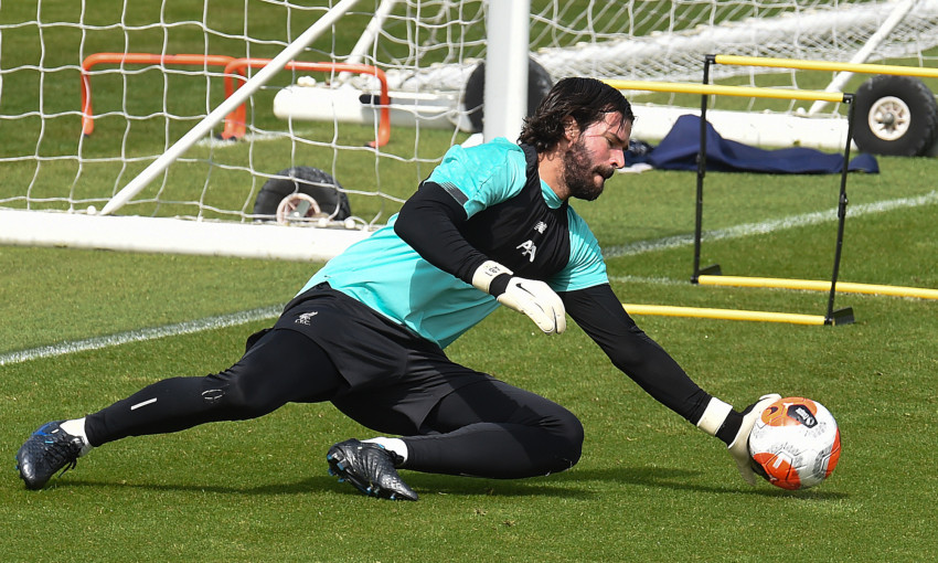 Liverpool training: May 21, 2020