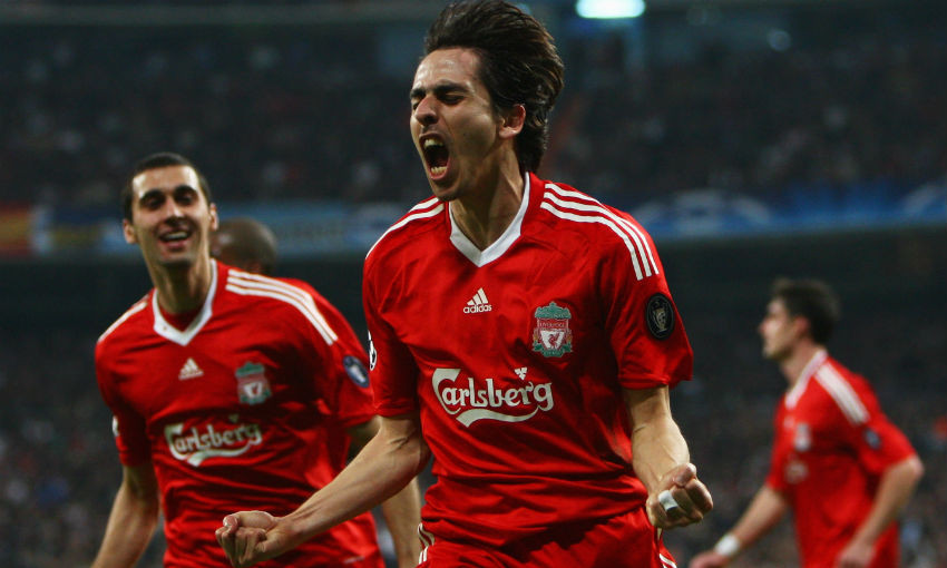 Yossi Benayoun in action for Liverpool FC