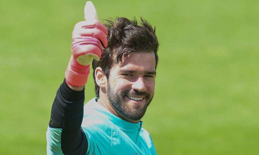 Liverpool training: June 5, 2020