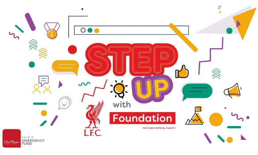 LFC Foundation launches new virtual 'Step-Up' programme - Liverpool FC