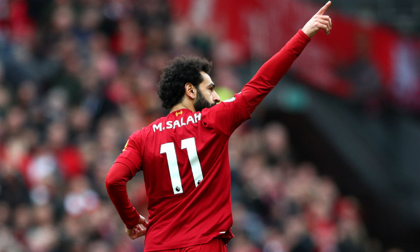 One day to go: Can Mohamed Salah bring up his LFC century? - Liverpool FC