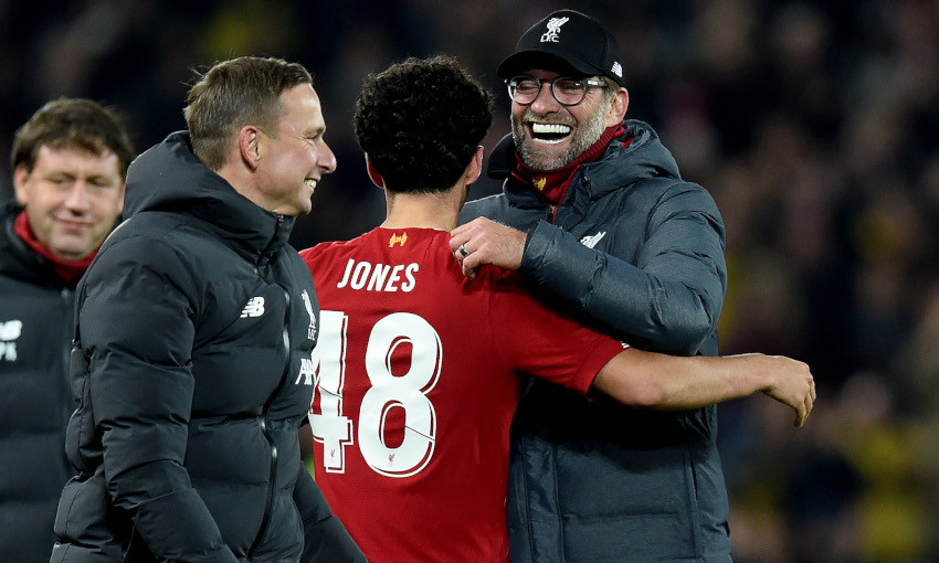 Jürgen Klopp: Curtis' new contract is a reward for his development -  Liverpool FC