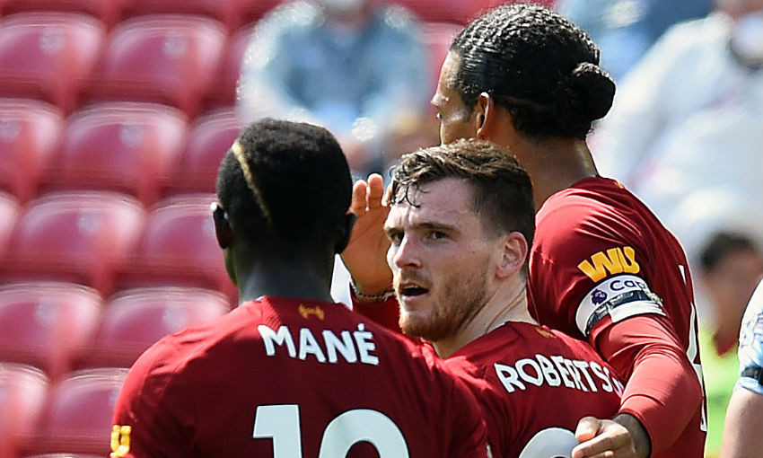Andy Robertson explains how he scored Burnley header