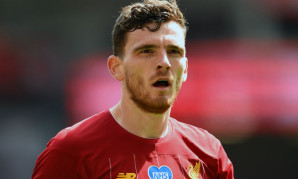 Andy Robertson of Liverpool FC