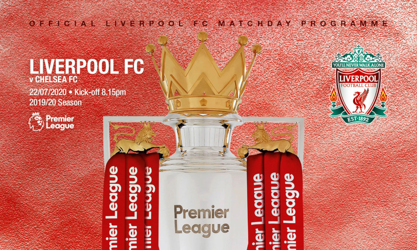 Liverpool v Chelsea matchday programme