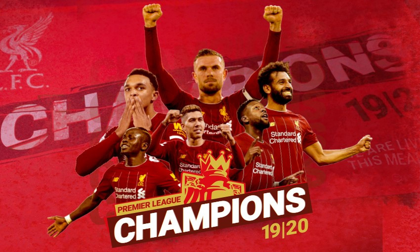 New items added to Premier League champions range - Liverpool FC