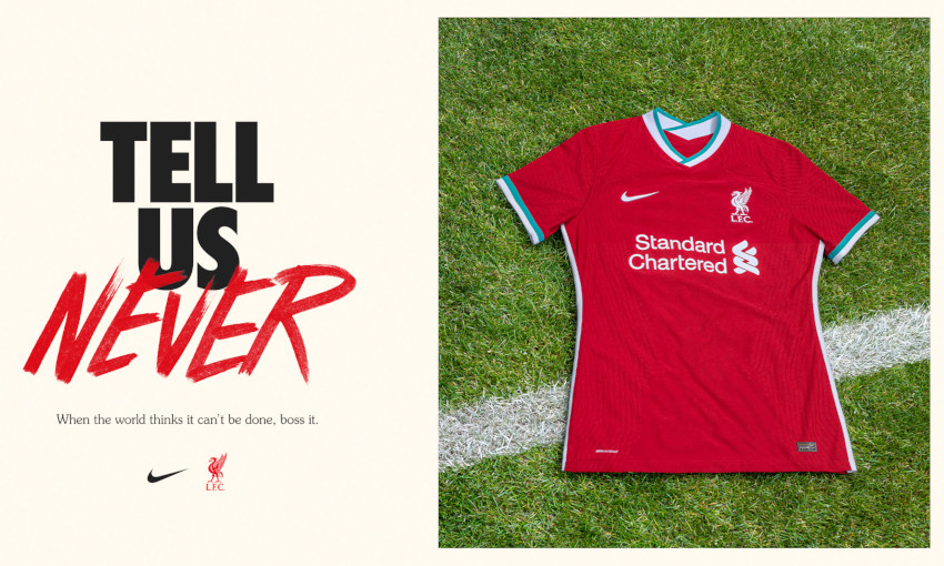 Pre Order Now Liverpool S New 2020 21 Nike Home Kit Liverpool Fc