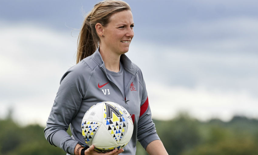 Vicky Jepson, Liverpool FC Women manager