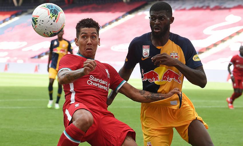Patson scores brace as Salzburg draw against Liverpool