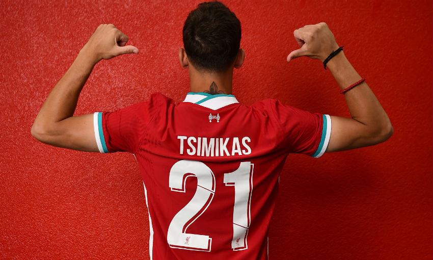 Kostas Tsimikas to wear No.21 for Liverpool - Liverpool FC