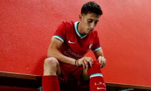 Kostas Tsimikas of Liverpool FC