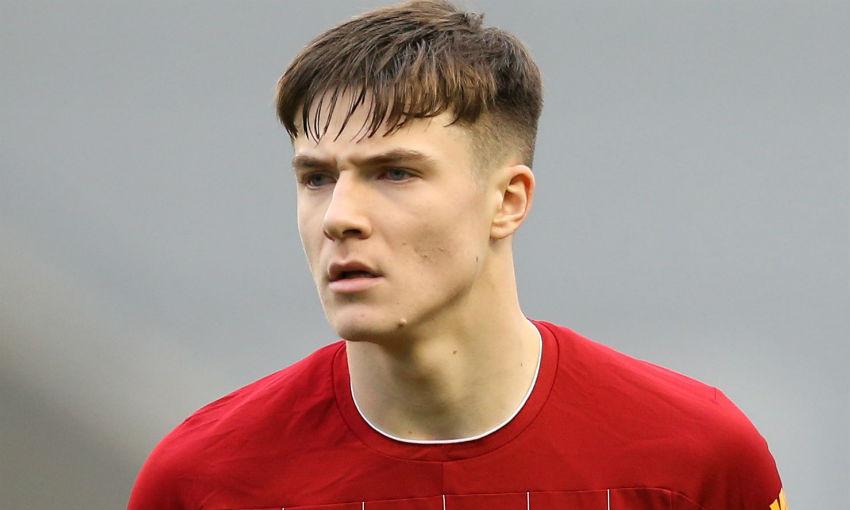 Morgan Boyes of Liverpool FC