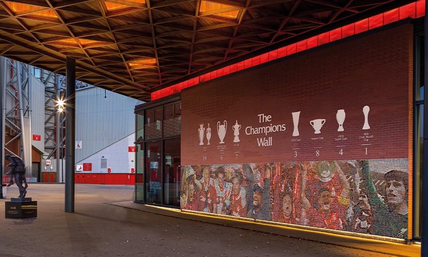 Anfield Champions Wall