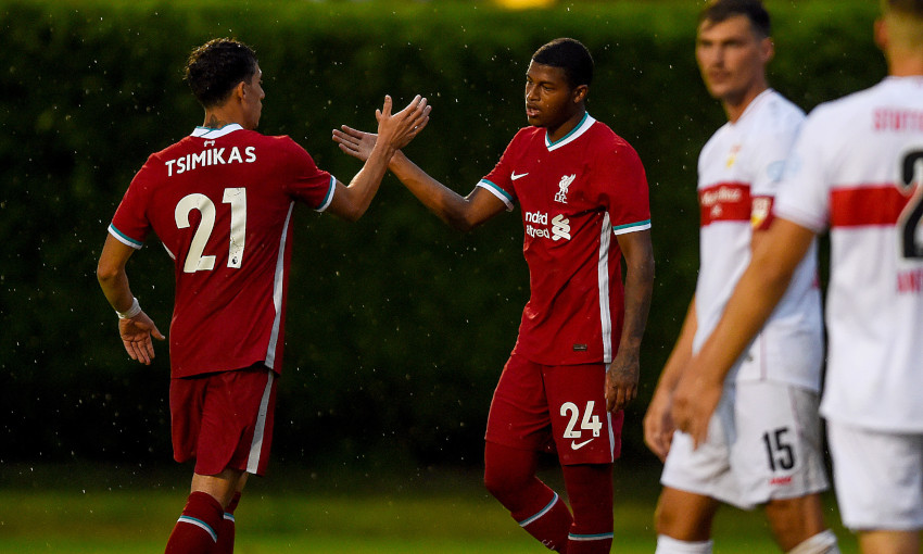 I M Very Happy Kostas Tsimikas Reflects On First Liverpool Game Liverpool Fc