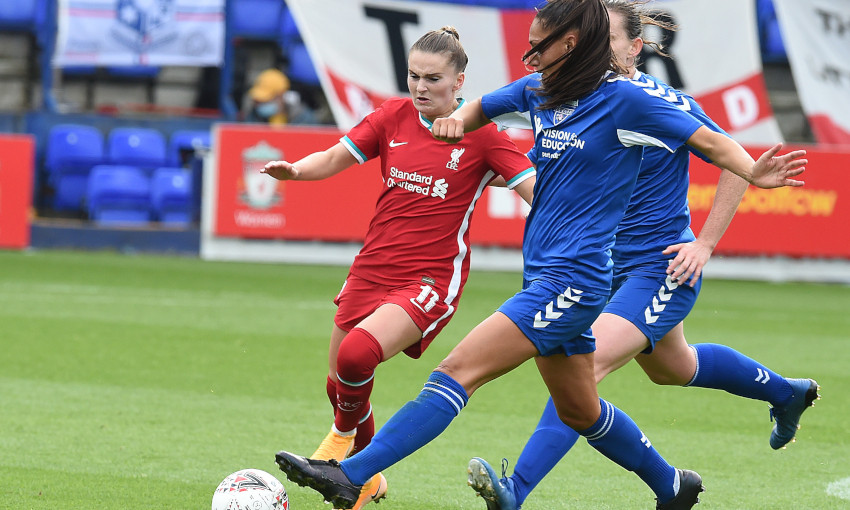 Liverpool FC Women v Durham - 06/09/2020
