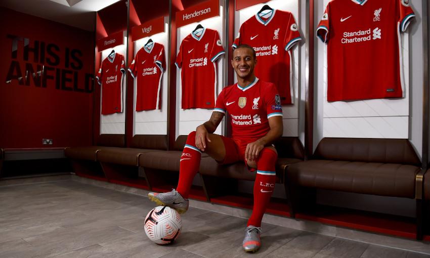 In Profile Thiago Alcantara S Journey To Anfield Liverpool Fc