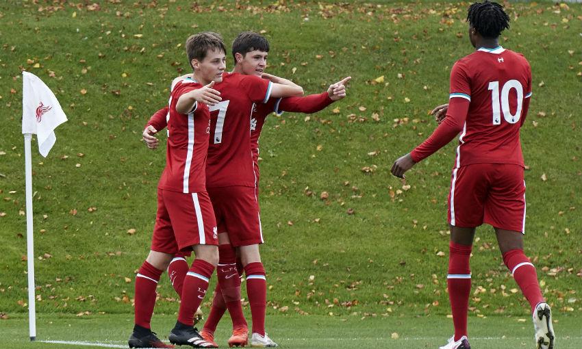 Liverpool FC U18s v Stoke City