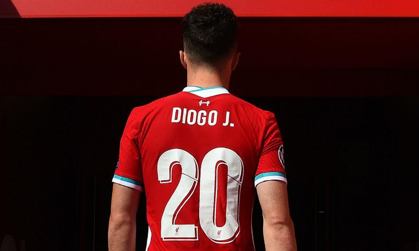 diogo jota to wear no 20 shirt for liverpool liverpool fc diogo jota to wear no 20 shirt for