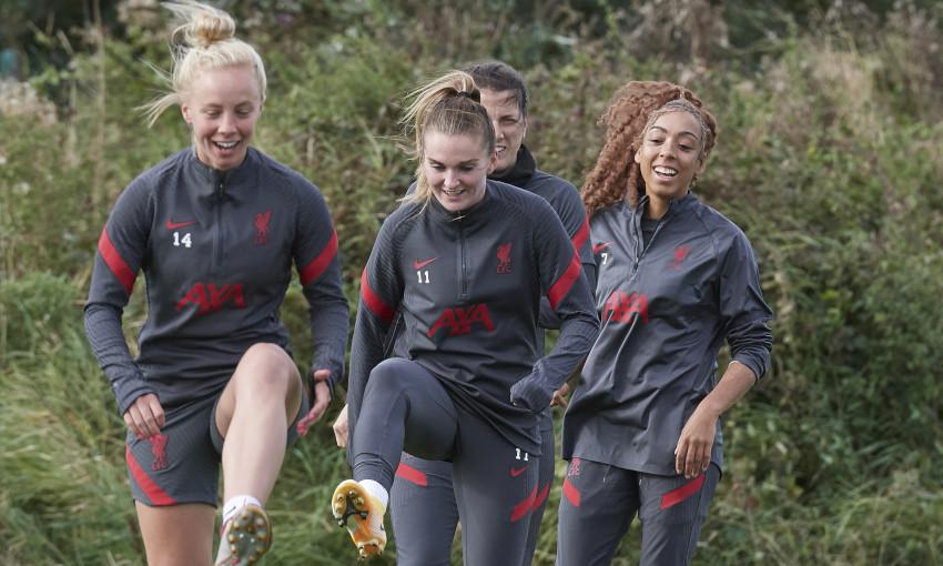Liverpool FC Women training - 25/09/2020