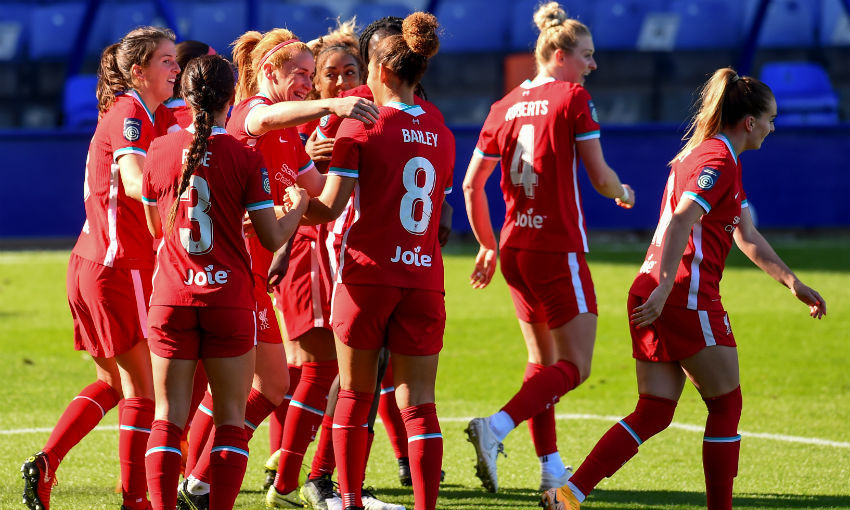 Liverpool FC Women v Charlton Athletic