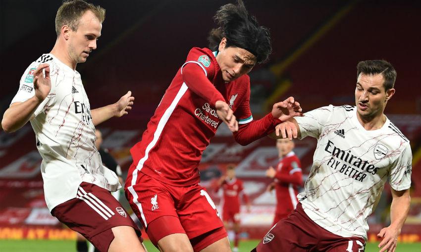 Liverpool FC v Arsenal, Carabao Cup