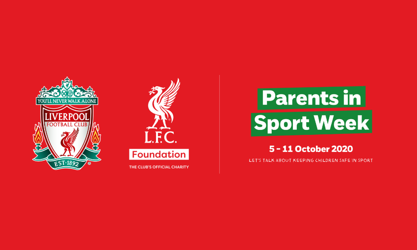 Liverpool FC supports NSPCC campaign