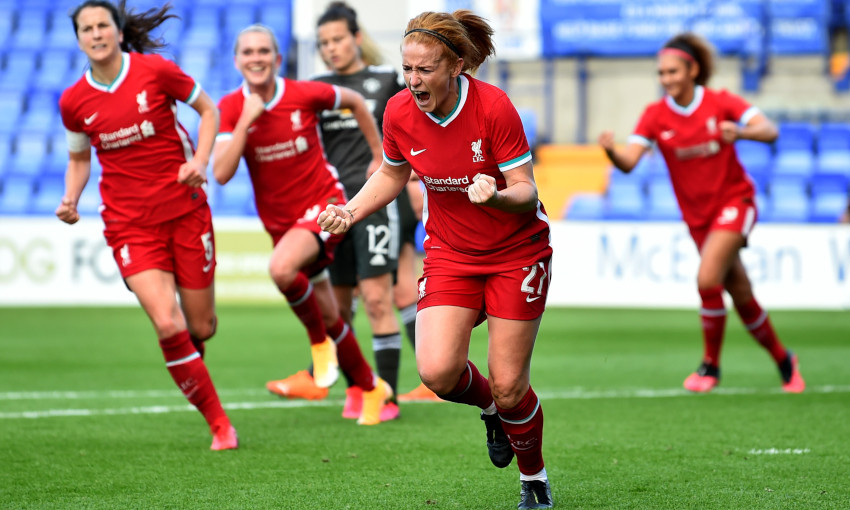 Liverpool FC Women v Manchester United - 07/10/2020