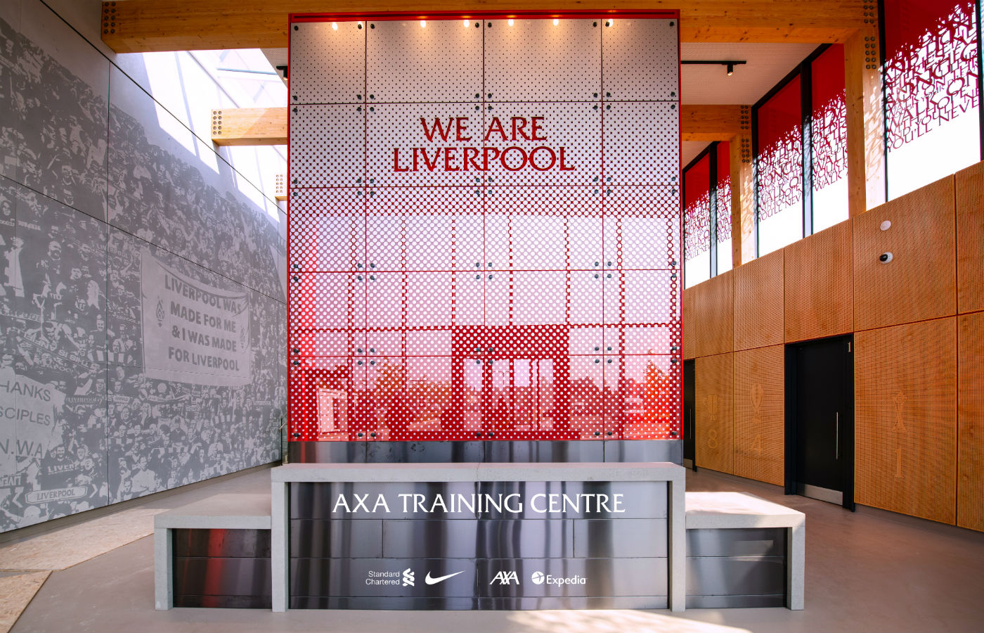 Liverpool agrees training centre deal with AXA
