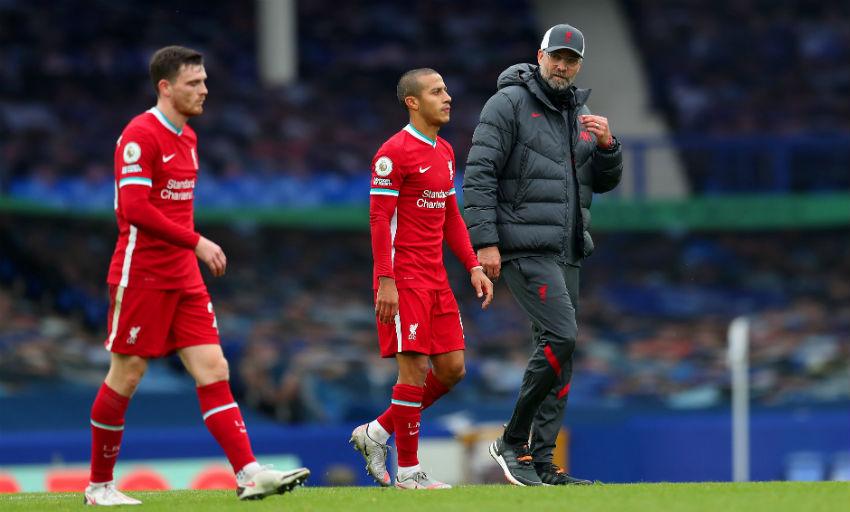 Klopp's update on Virgil van Dijk and Thiago Alcantara injuries