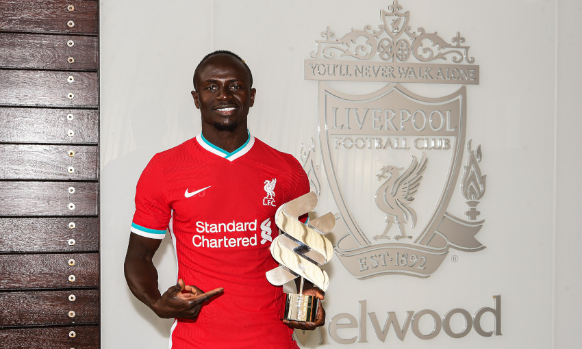Sadio Mane wins Standard Chartered Player of the Month for September 2020