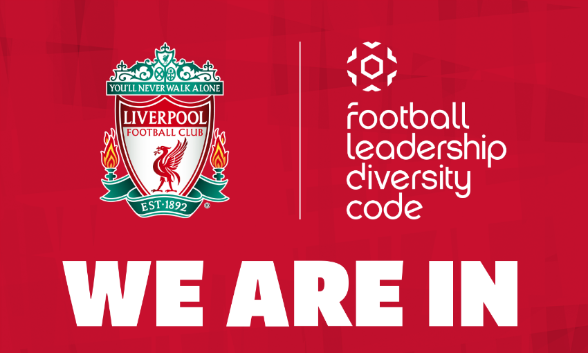 LFC signs up to FA's new FA Football Diversity Leadership Code